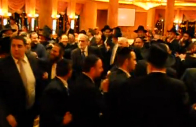 Dancing at the NYC Siyum Likutey Moharan