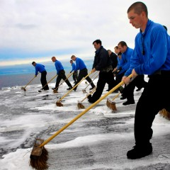 Sweeping In The New Year