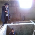 Checking the mikvah