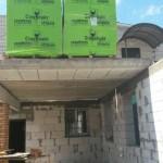 Construction of Beis HaMedrash Roof