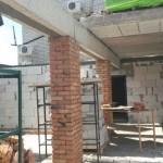 Construction of Beis HaMedrash Roof2