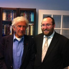 The Breslov Research Institute Mourns The Passing of Elie Wiesel