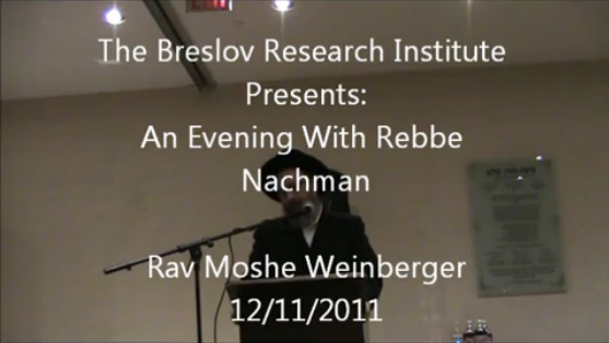Video Replay: An Evening With Rebbe Nachman – Incredible Inspiration!